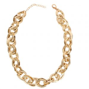 6aa2e88f b611 5d95 a7e5 465890183ec1 » Chunky chain gold necklace » CHRISTI TASKER MIAMI » Designer Fashion Jewelry & Home Decor Boutique » Miami Yacht Club Ropes | Double Chunky Chain Gold Necklace »