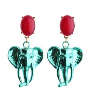8da986ba 0b65 5624 8796 b7b1de17f679 1 » CHRISTI TASKER MIAMI » Designer Fashion Jewelry & Home Decor Boutique  » Chromatic Creative Elephant Earrings | Female Empowerment »